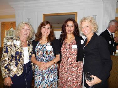 Women at the Athena Leadership Reception in 2014